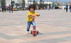 Bakı bulvarı, velosipedlər və Avropa Oyunları (FOTO) - Gallery Thumbnail