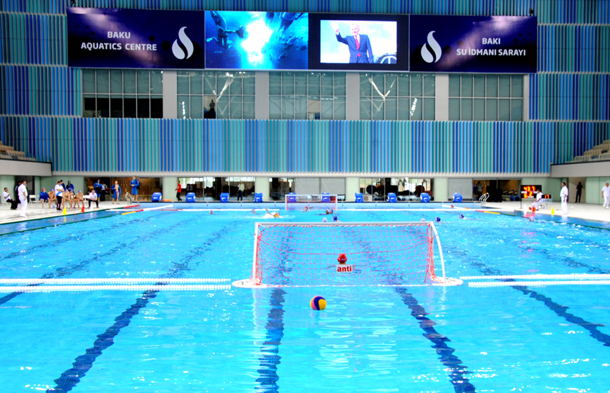 Water Sports Palace in Baku ready for European Games - Gallery Image