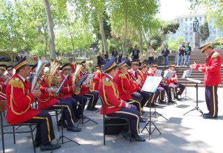 Azerbaijani military orchestras to celebrate May 9 with performances in Baku