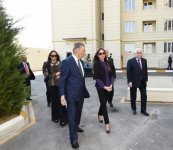 Azerbaijan's first lady Mehriban Aliyeva attends opening of building for IDP families in Khirdalan (PHOTO) - Gallery Thumbnail