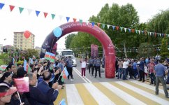 Journey of Baku 2015 flame arrives in Agjabadi (PHOTO) - Gallery Thumbnail