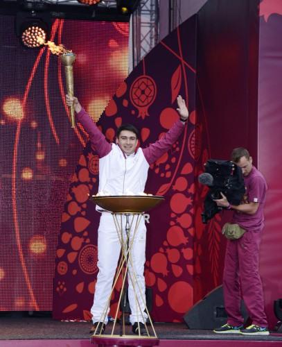 «Баку-2015»: Грандиозный фестиваль Огня в прифронтовой зоне (ФОТО) - Gallery Image