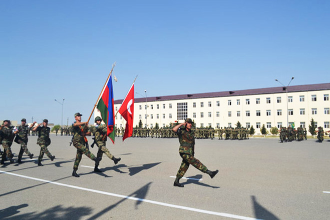 Azerbaijani, Turkish armed forces hold joint tactical drills