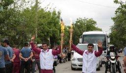 Azerbaijan's Zardab welcomes torch of European Games (PHOTO) - Gallery Thumbnail