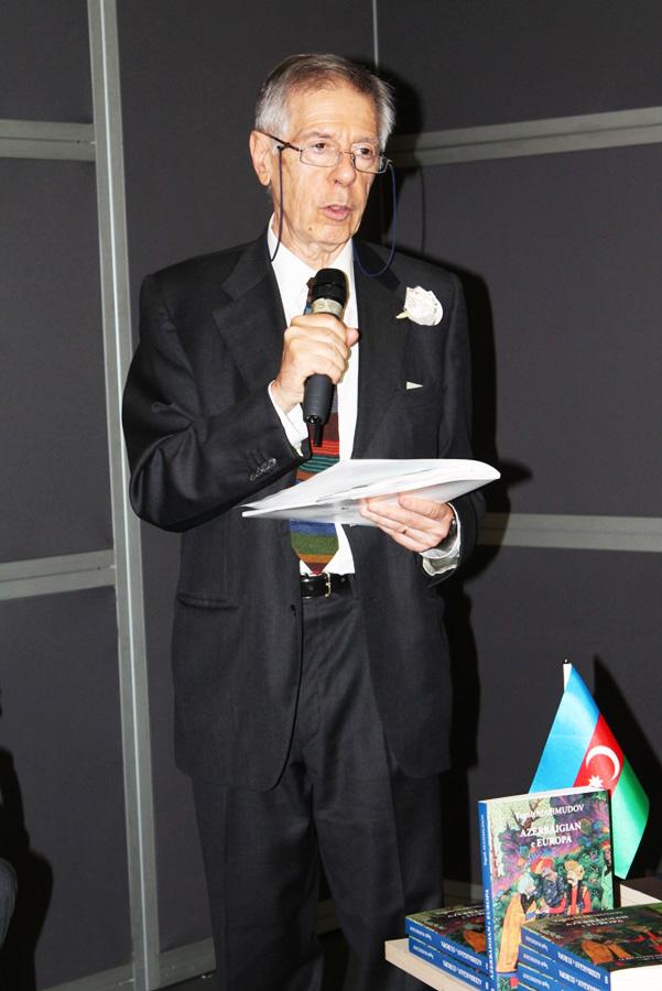 Павильон Азербайджана вызвал большой интерес на выставке в Италии (ФОТО) - Gallery Image