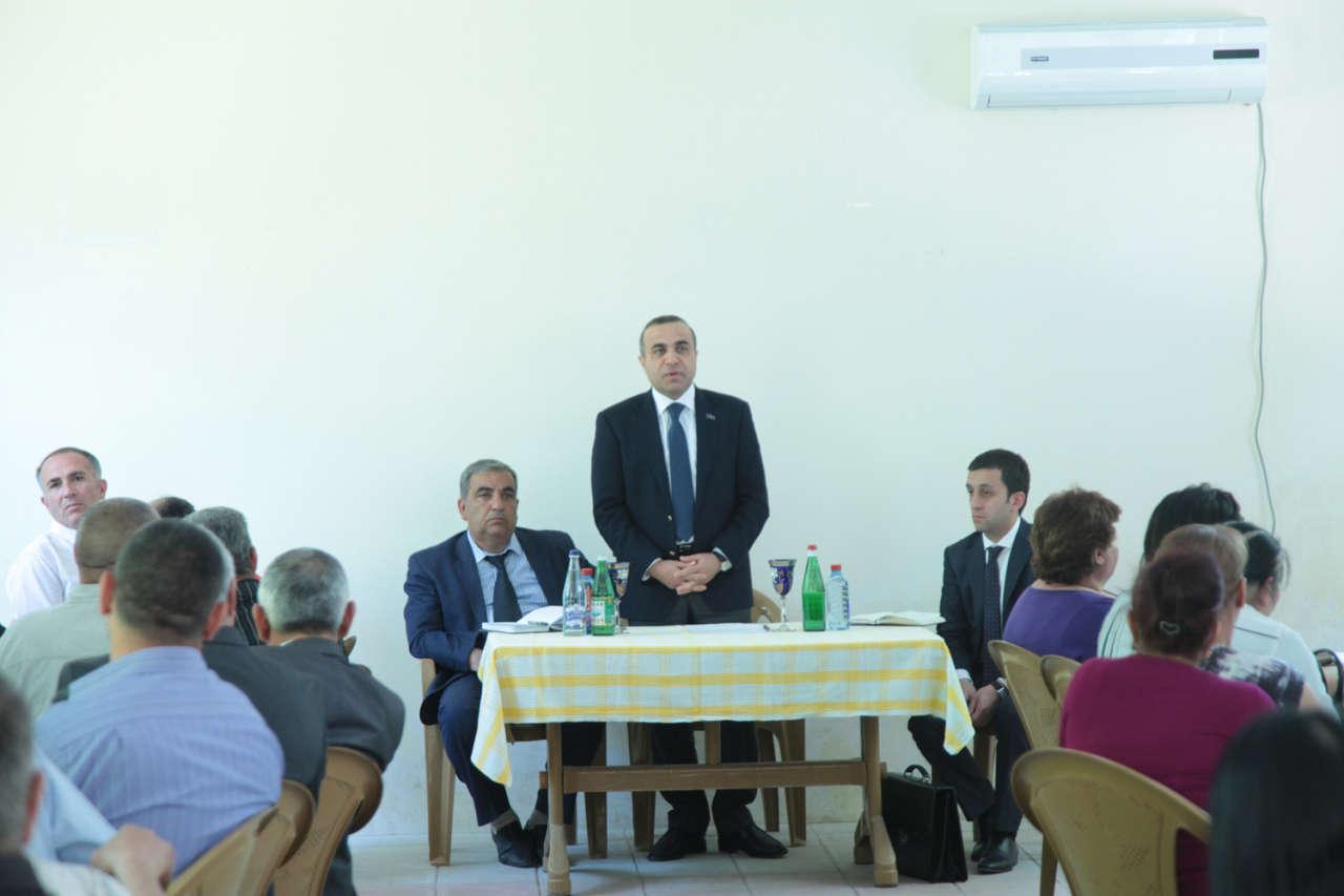 Azay Quliyev Şirvanda seçiciləri ilə növbəti görüşünü keçirib (FOTO) - Gallery Image