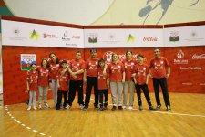 Победители турнира FASA пронесли факел первых Европейских игр «Баку 2015» - Gallery Thumbnail