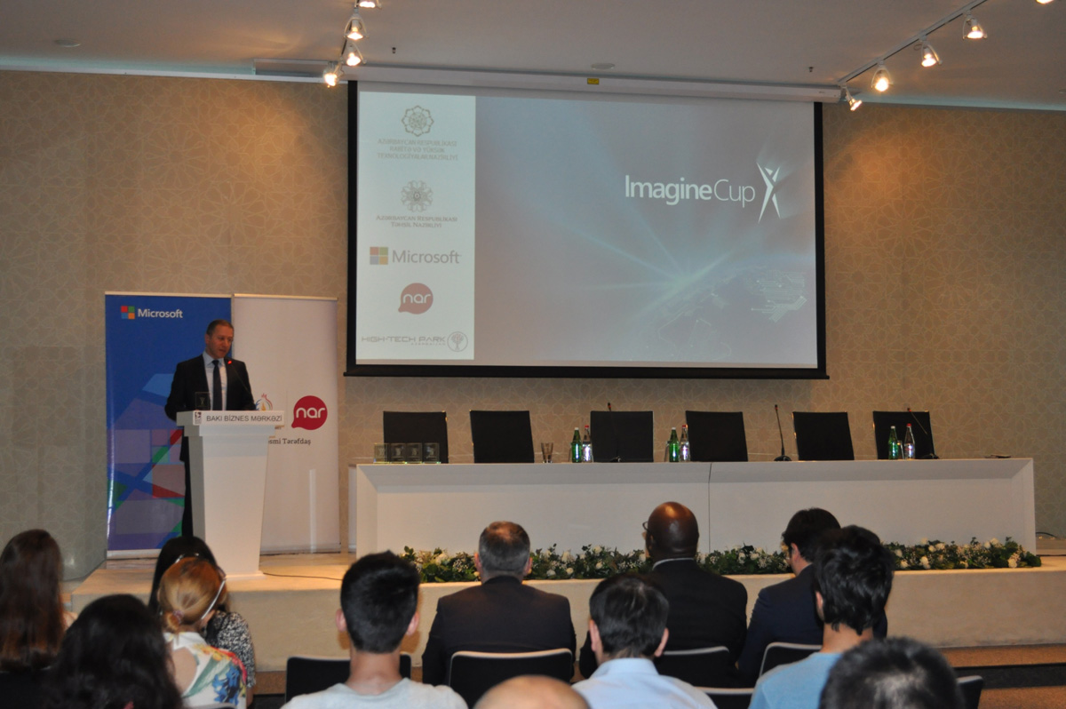 """Winners of """"Imagine Cup"""" competition held for first time in Azerbaijan unveiled - Gallery Image"""
