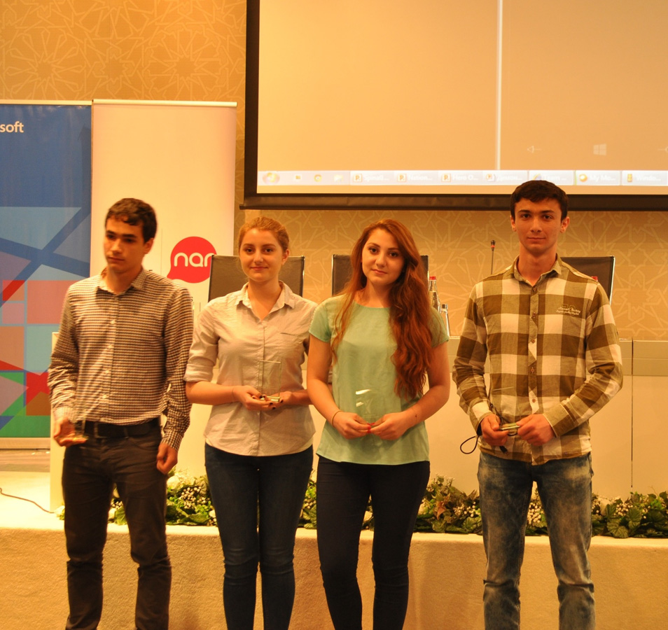 """Winners of """"Imagine Cup"""" competition held for first time in Azerbaijan unveiled"""
