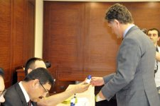 Ambassador: Voting in parliamentary election in Turkish embassy in Azerbaijan goes active - Gallery Thumbnail