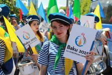 Kiev holds march dedicated to first European Games (PHOTO) - Gallery Thumbnail