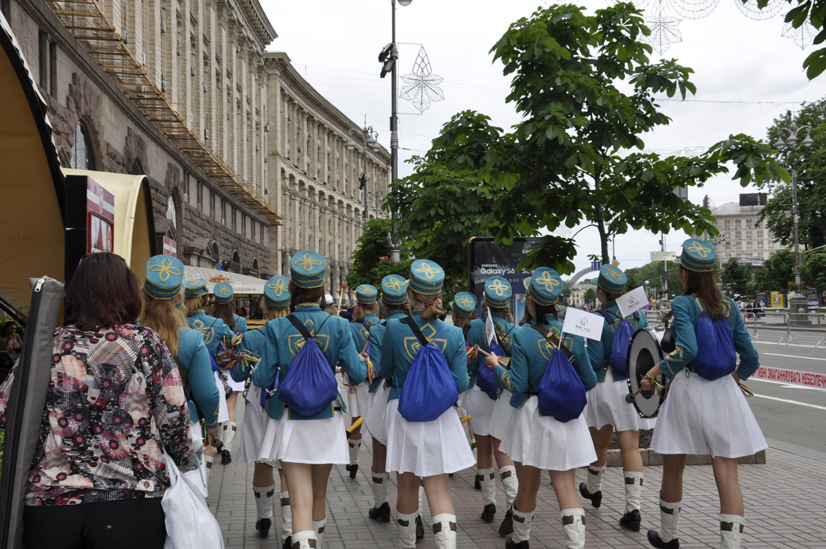 Kiev holds march dedicated to first European Games (PHOTO) - Gallery Image