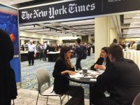 Azernews, Trend discuss information exchange with The New York Times - Gallery Thumbnail