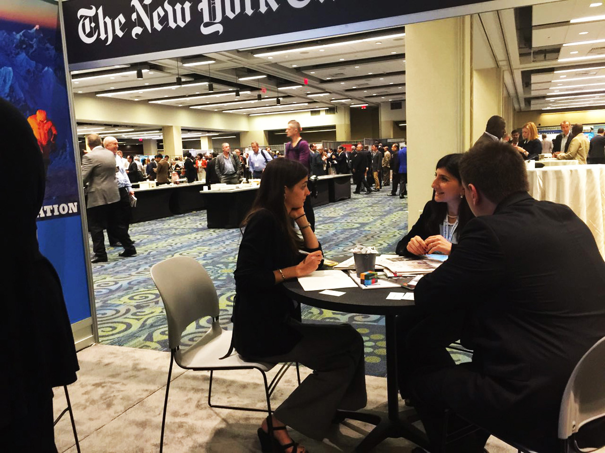 Azernews, Trend discuss information exchange with The New York Times - Gallery Image