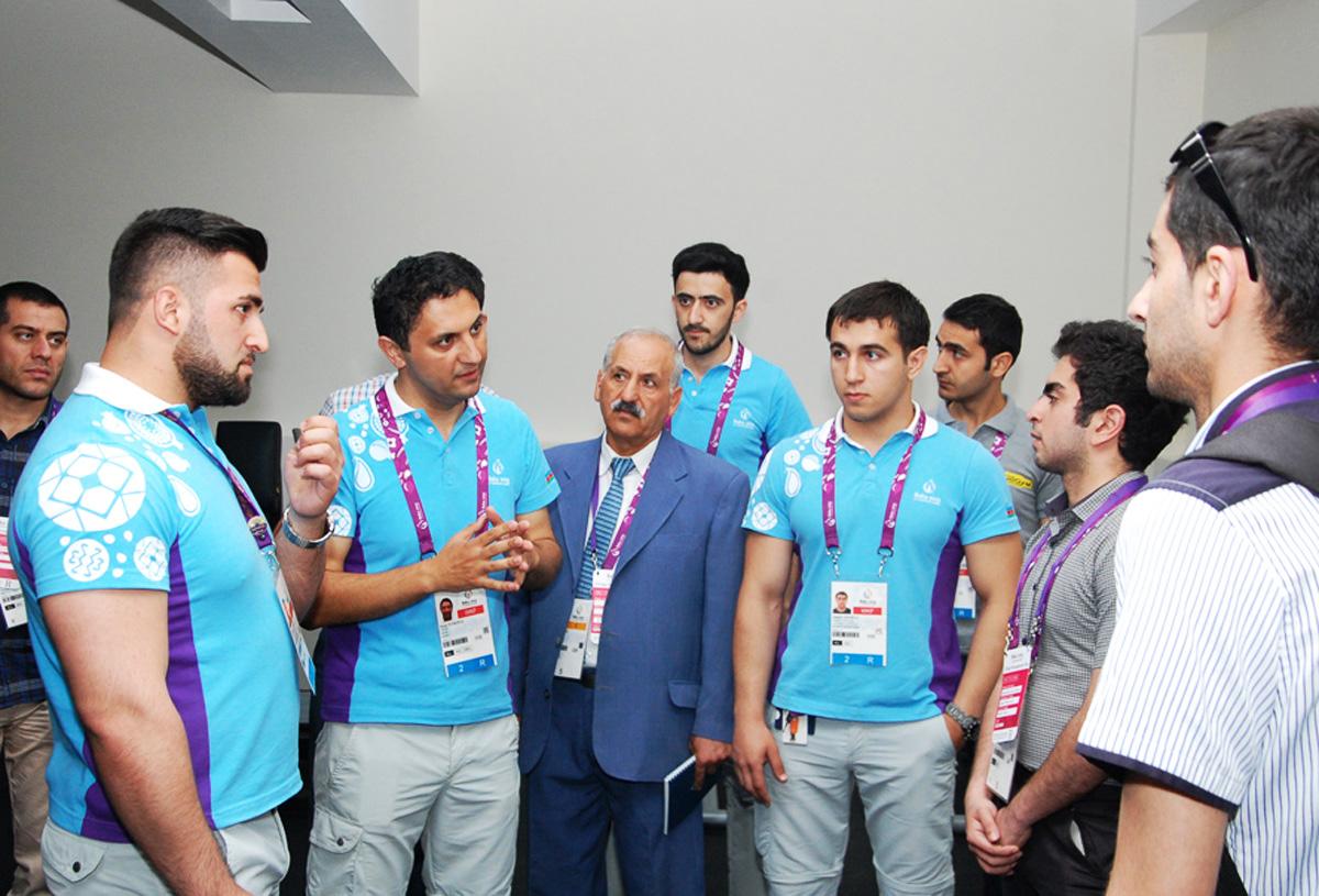 Евроигры: Грандиозная Деревня атлетов в Баку - репортаж (ФОТО) - Gallery Image