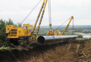 Laying tunnel for Turkmenistan-China gas pipeline completing in Tajikistan