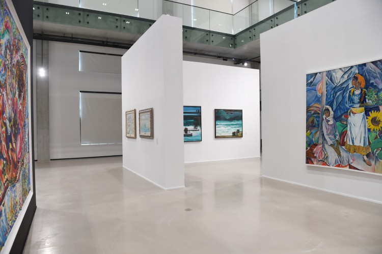"""President Ilham Aliyev, his spouse attend opening of """"Azerbaijani painting in the 20th-21st centuries"""" exhibition (PHOTO) - Gallery Image"""