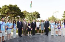 Azerbaijan`s first lady attends opening ceremony of  European Hospitality Club - Gallery Thumbnail