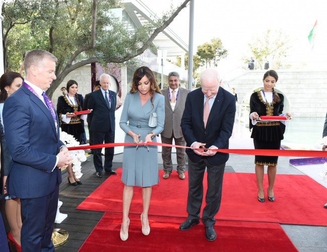 Azerbaijan`s first lady attends opening ceremony of  European Hospitality Club