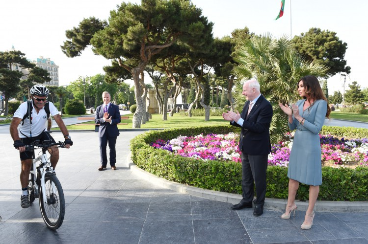 Azerbaijan`s first lady attends opening ceremony of  European Hospitality Club - Gallery Image