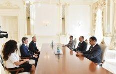 Президент Азербайджана принял глав Сан-Марино - Gallery Thumbnail