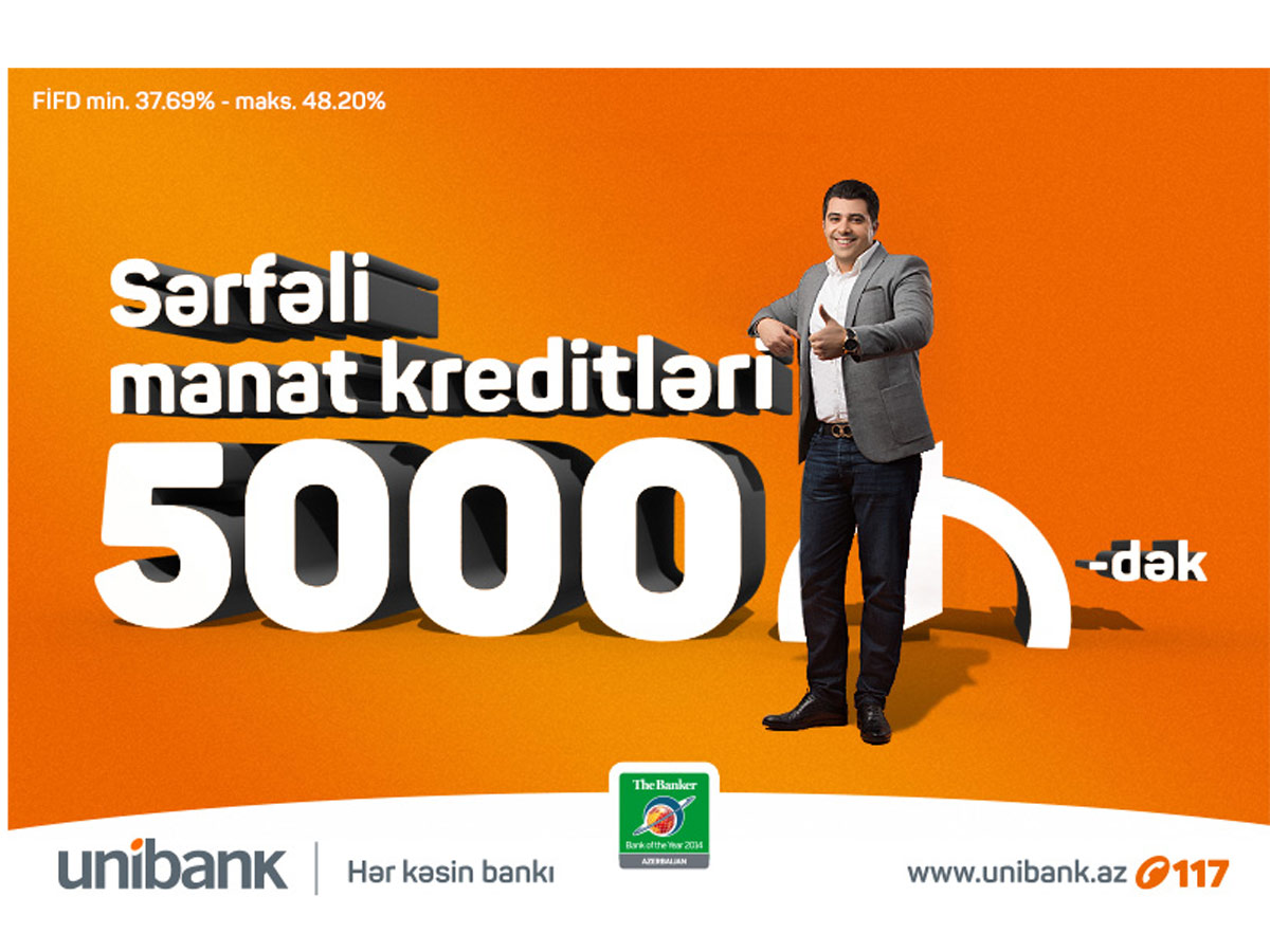 Apply to Unibank for AZN loans