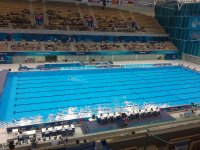 Solo competitions in synchronized swimming start within first European Games Baku 2015 (PHOTO) - Gallery Thumbnail