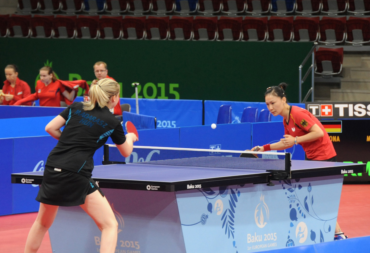 Baku 2015: Women's table tennis competitions wrap up