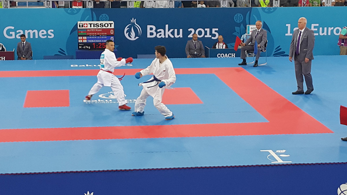 Üç karateçimiz Avropa Oyunlarının yarımfinalına çıxıb