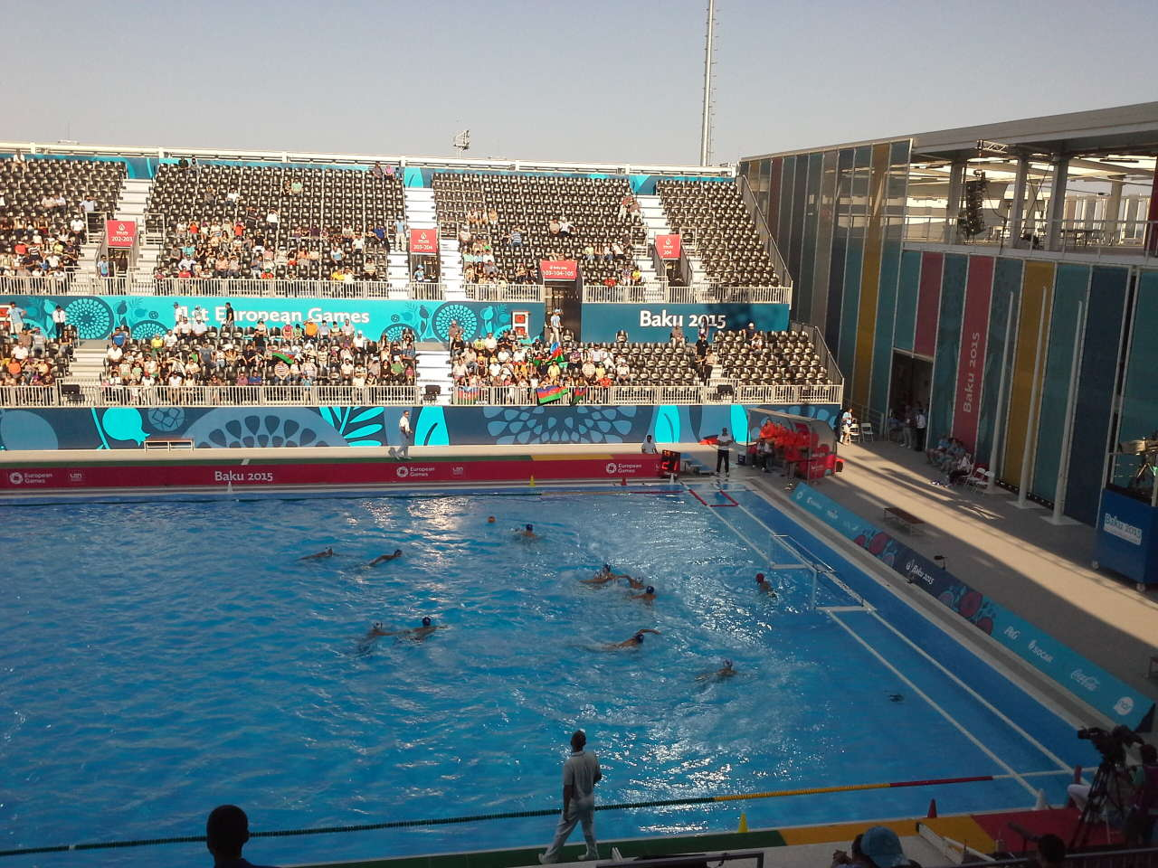Water polo competitions start in Baku