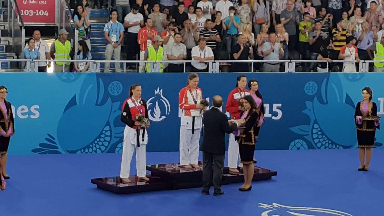 Azerbaijani karateka grabs gold medal (UPDATE)(PHOTO,VIDEO) - Gallery Image
