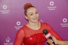 First European Games in Baku is of great importance - British female gymnast - Gallery Thumbnail