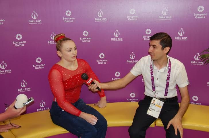 First European Games in Baku is of great importance - British female gymnast - Gallery Image