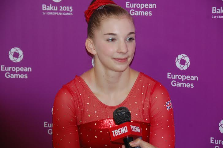 British gymnast says Azerbaijan created excellent conditions for sport (PHOTO)