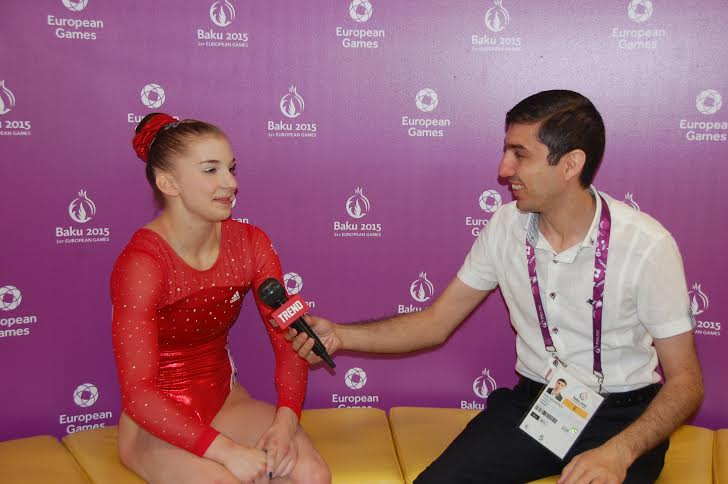 British gymnast says Azerbaijan created excellent conditions for sport (PHOTO) - Gallery Image