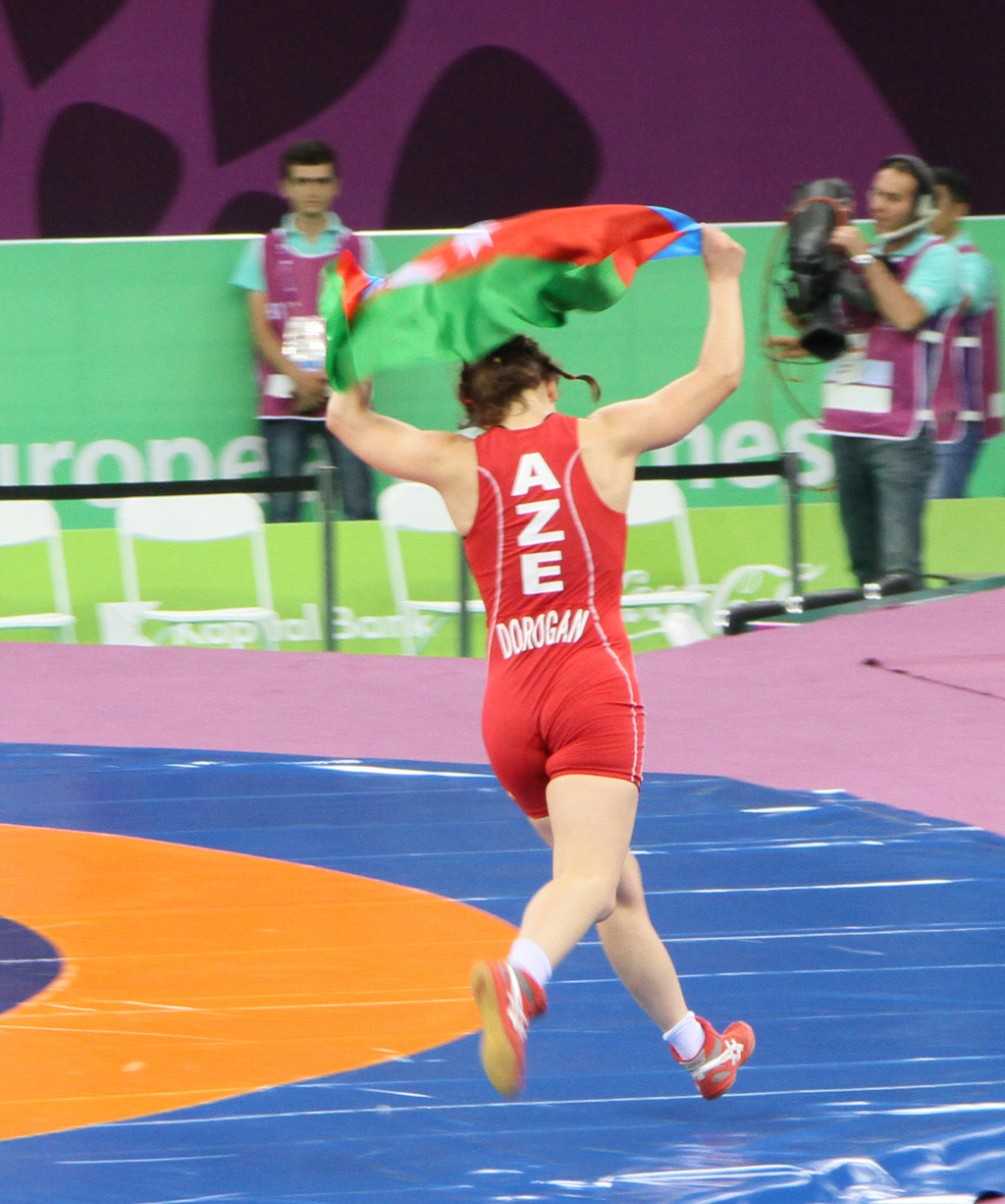 Azerbaijan grabs another gold medal in women's wrestling at Baku 2015 (VIDEO) (PHOTO) - Gallery Image