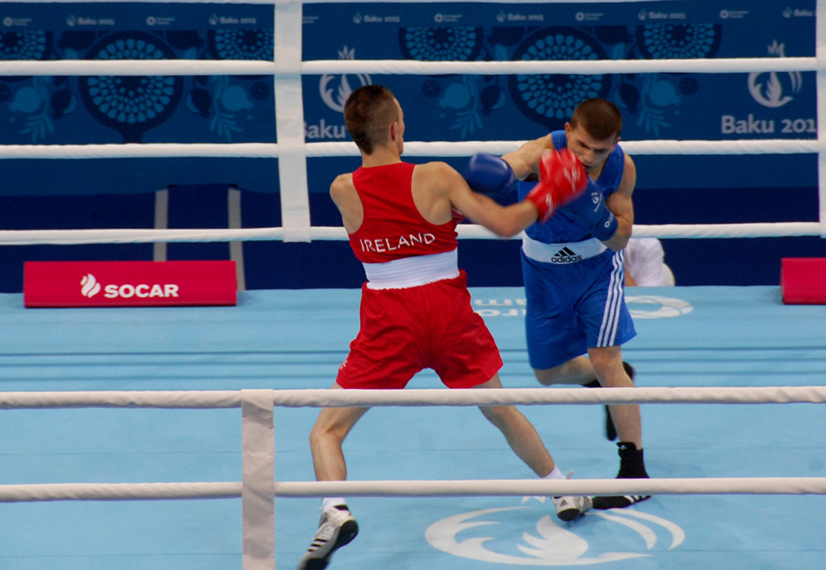 Azerbaijani boxer reached 1/4 finals of competition as part of first European Games in Baku