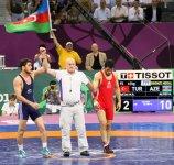 Baku 2015: Wrestler brings another bronze medal to Azerbaijan (PHOTO) - Gallery Thumbnail