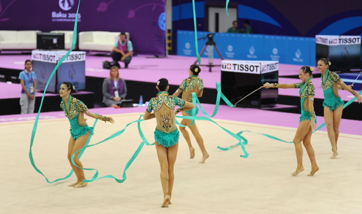 Azerbaijani gymnasts on sixth day of first European Games in Baku (PHOTO SESSION) - Gallery Image