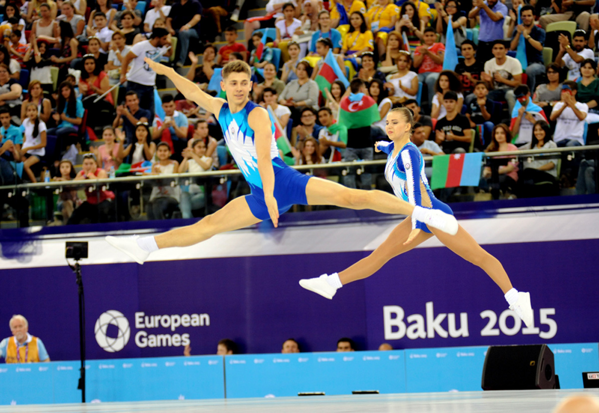 Azerbaijani gymnasts on sixth day of first European Games in Baku (PHOTO SESSION)