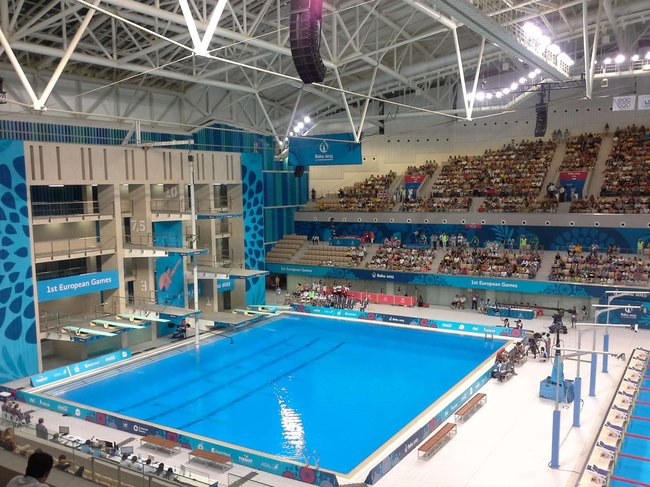 Azerbaijani female athlete reached diving competition final as part of first European Games in Baku (PHOTO) - Gallery Image