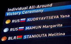 Rusiya bədii gimnastika yarışlarında iki medal qazandı (FOTO) - Gallery Thumbnail