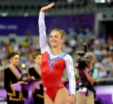 Baku 2015: Swiss female gymnast wins gold in vault (PHOTO) - Gallery Thumbnail
