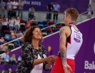 Awarding ceremony of athletes in artistic gymnastics at European Games held (PHOTO)  (VIDEO) - Gallery Thumbnail
