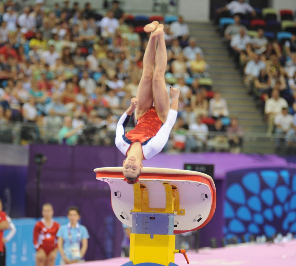 Baku 2015: Swiss female gymnast wins gold in vault (PHOTO) - Gallery Image