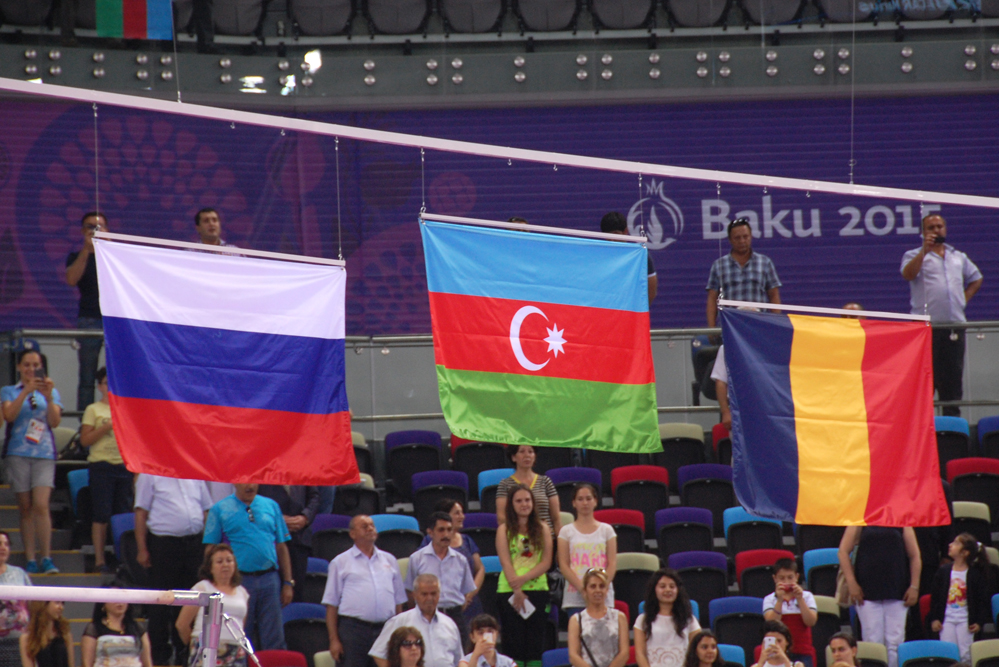 Awarding ceremony of athletes in artistic gymnastics at European Games held (PHOTO)  (VIDEO) - Gallery Image
