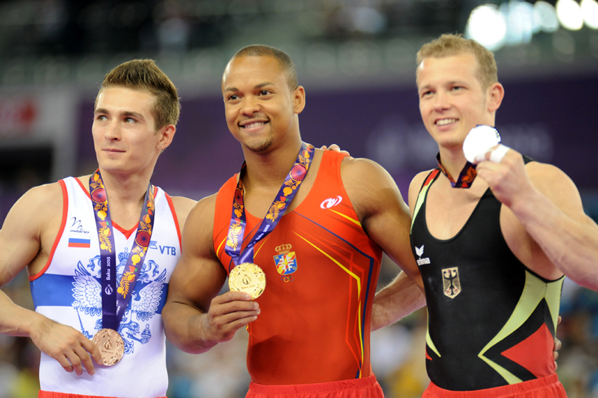 Baku 2015: Spanish gymnast wins gold in floor exercise (PHOTO)