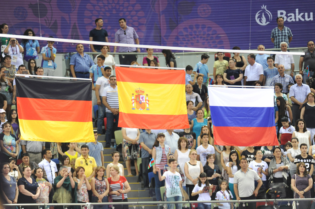 Baku 2015: Spanish gymnast wins gold in floor exercise (PHOTO) - Gallery Image