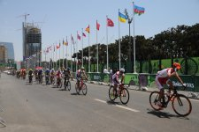Spanish athlete wins gold medal in men's road race at Baku 2015 - Gallery Thumbnail