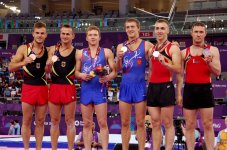 Baku 2015: Mixed pair event in aerobic gymnastics wrap up (PHOTO) - Gallery Thumbnail